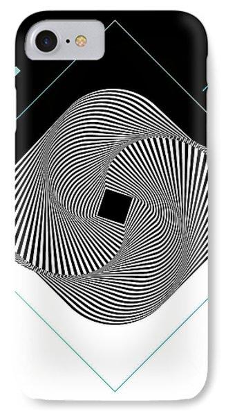 Op Art IPhone Case by BONB Creative