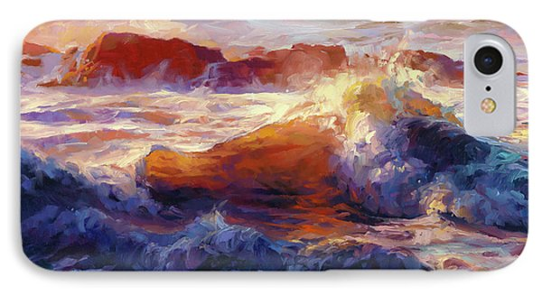 Pacific Ocean iPhone 7 Case - Opalescent Sea by Steve Henderson