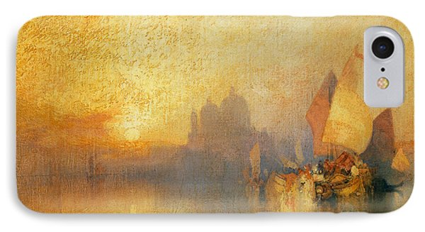 Opalescent Venice IPhone Case by Thomas Moran