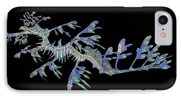 Opalised Sea Dragon IPhone Case