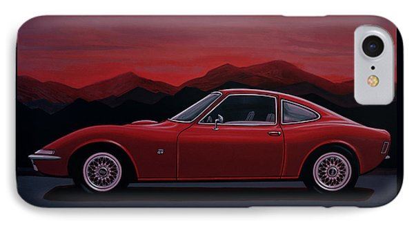 Opel Gt 1969 Painting IPhone Case