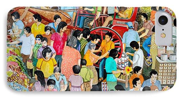 Open Air Street Market Metro Manila IPhone Case