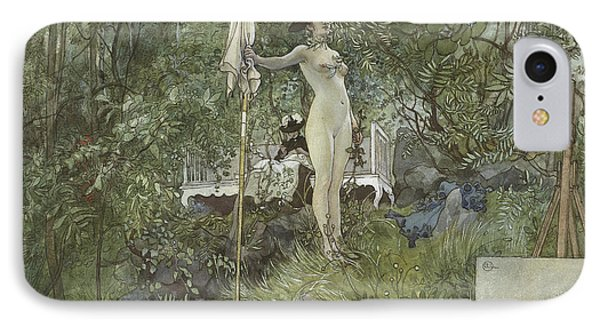 Open Air Studio IPhone Case by Carl Larsson