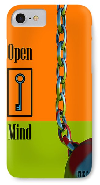 Open Mind IPhone Case by Richard Rizzo