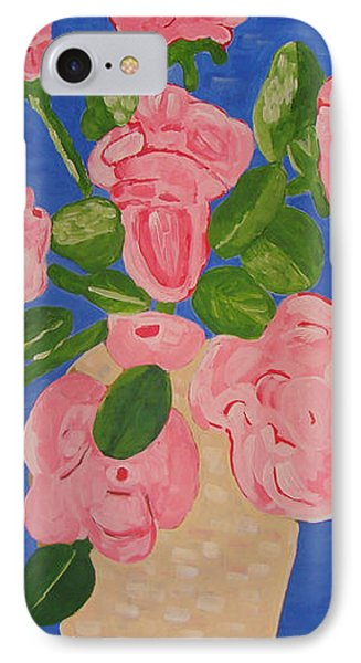 Open Roses I Phone Case by Olivia  M Dickerson