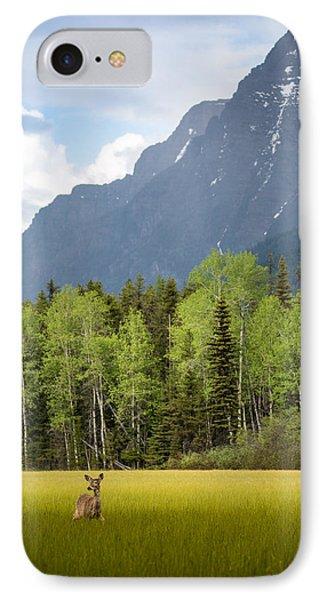 Open Spaces // Glacier National Park  IPhone Case by Nicholas Parker