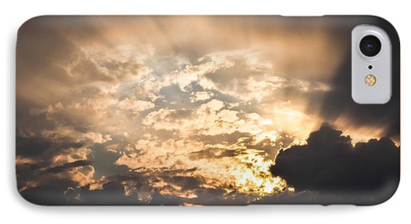 Open The Sky IPhone Case by Cco