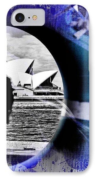 Opera House Rescue IPhone Case by Az Jackson