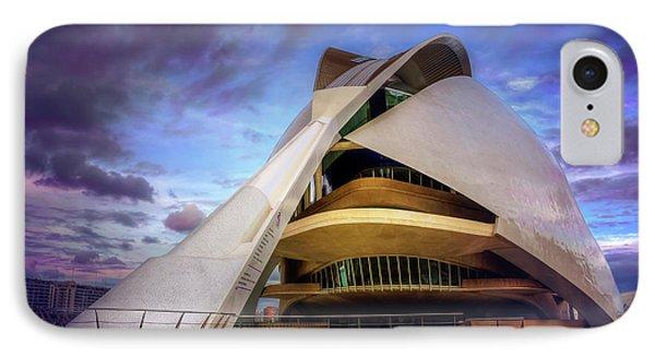Opera House Valencia  IPhone Case