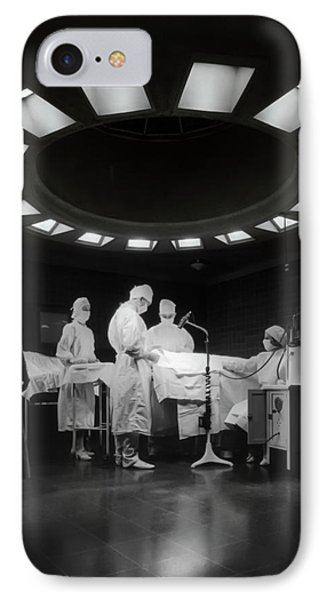IPhone Case featuring the photograph Operating Room Theater 1933 by Daniel Hagerman