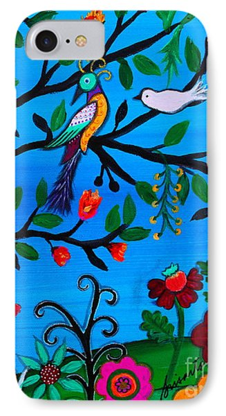 IPhone Case featuring the painting Optimism by Pristine Cartera Turkus