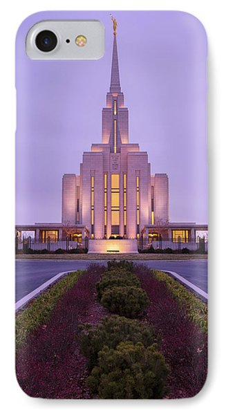 Oquirrh Fall IPhone Case