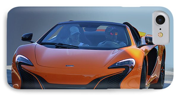 Or Mclaren IPhone Case by Bill Dutting