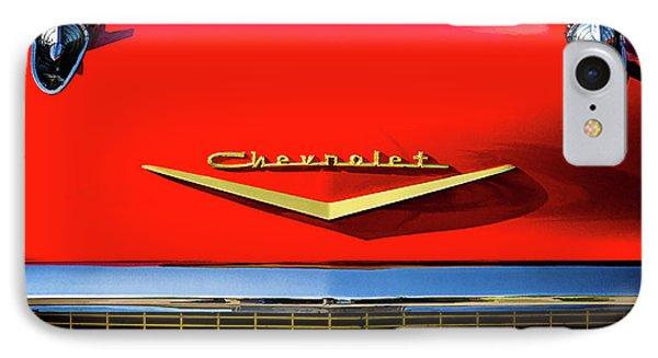 Orange '57 Chevy Phone Case by Douglas Pittman