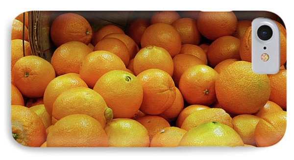 Orange Basket IPhone Case