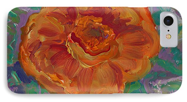 IPhone Case featuring the painting Orange Blossom by John Keaton