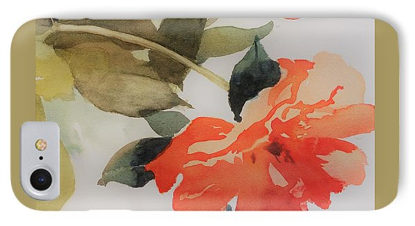 Orange Blossom Special IPhone Case by Elizabeth Carr