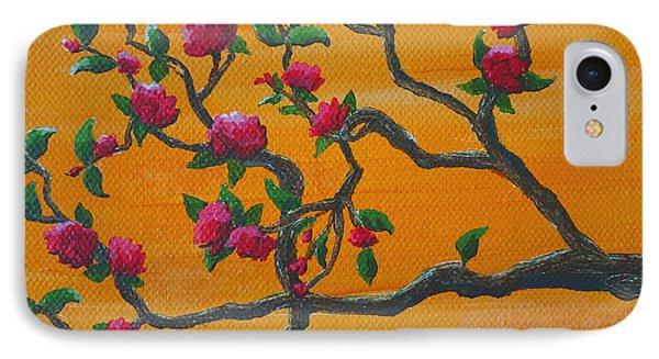 Orange Branch IPhone Case