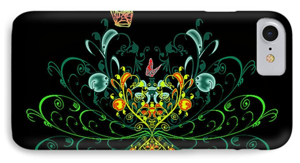 Orange Butterflies Phone Case by Svetlana Sewell