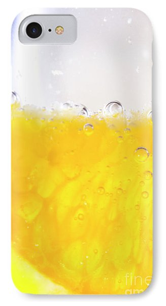 Orange Cocktail Glass IPhone Case by Jorgo Photography - Wall Art Gallery