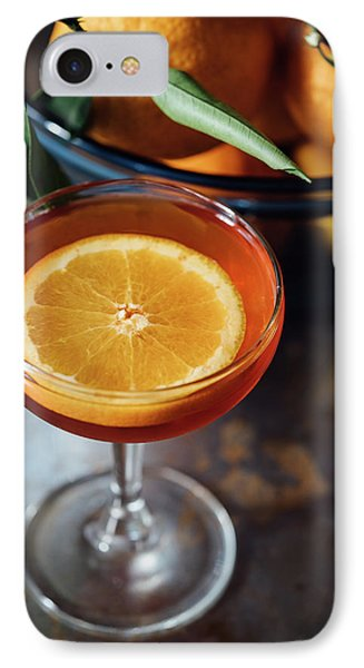 Orange Cocktail IPhone 7 Case by Happy Home Artistry