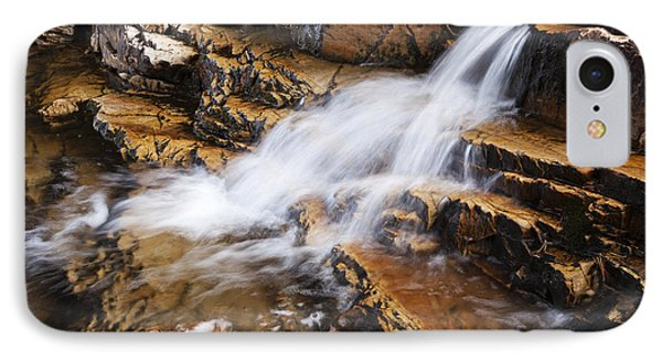 Orange Falls IPhone Case by Chad Dutson