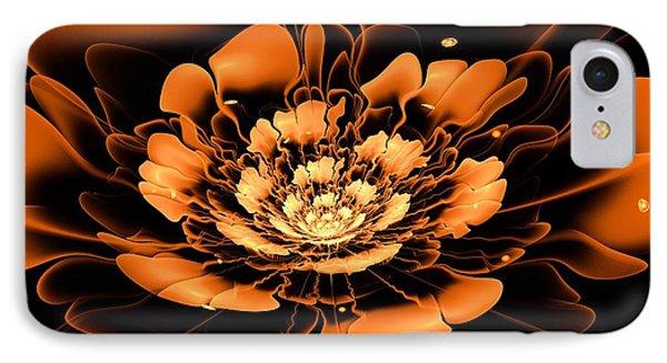 Orange Flower  Phone Case by Anastasiya Malakhova