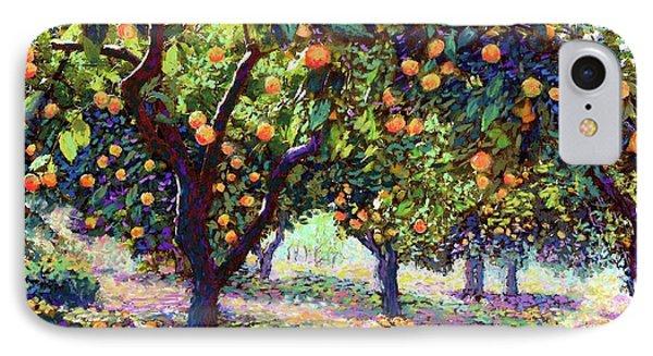 Orange Grove Of Citrus Fruit Trees IPhone 7 Case