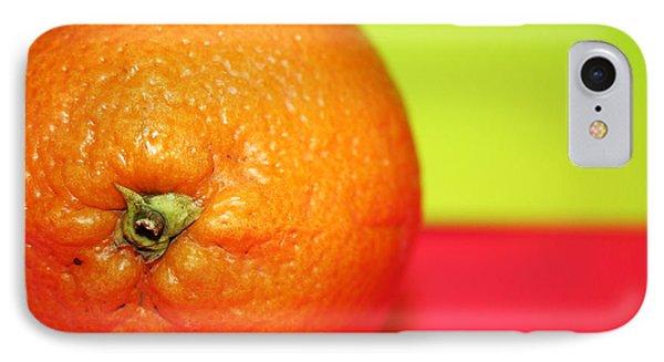 Orange Phone Case by Linda Sannuti