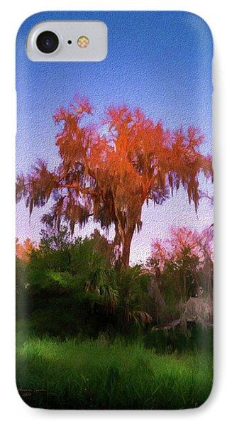 Orange Oak IPhone Case by Marvin Spates