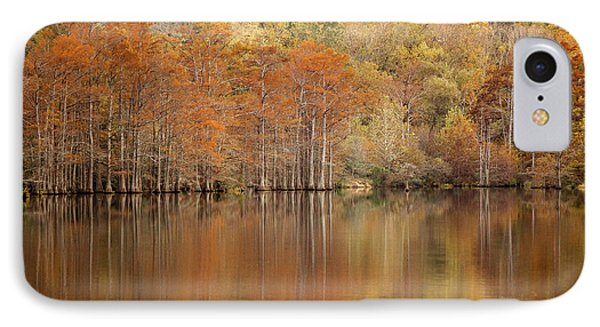 IPhone Case featuring the photograph Orange Pool by Iris Greenwell