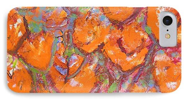 Orange Poppies IPhone Case