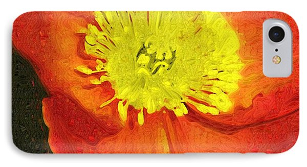IPhone Case featuring the photograph Orange Poppy by Donna Bentley