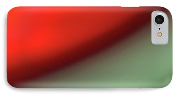 IPhone Case featuring the photograph Orange Red Green by CML Brown