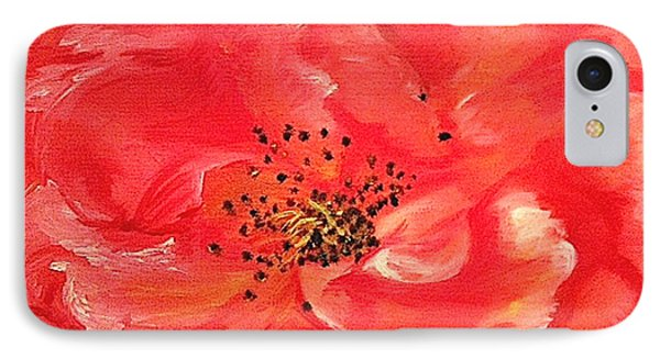 Orange Rose IPhone Case by Sheron Petrie