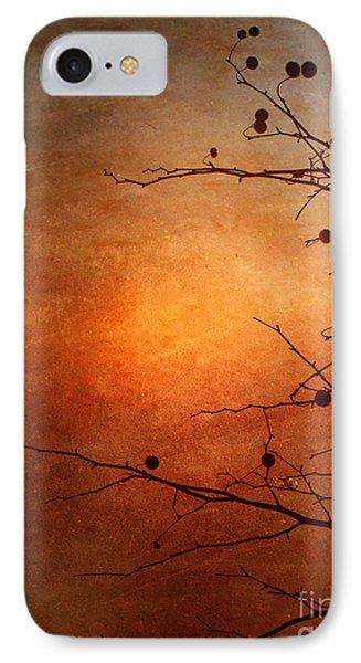 Orange Simplicity Phone Case by Tara Turner