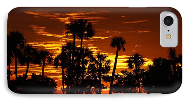 Orange Skies IPhone Case