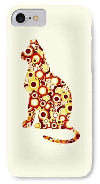 Orange Tabby - Animal Art Phone Case by Anastasiya Malakhova
