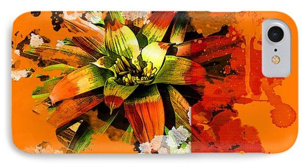 Orange Tropic IPhone Case