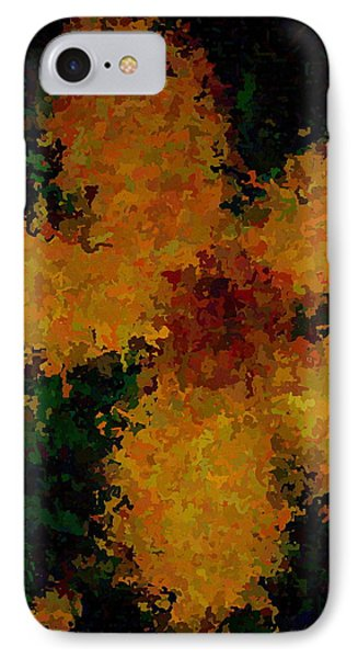 Orange-yellow Flower Phone Case by April Patterson