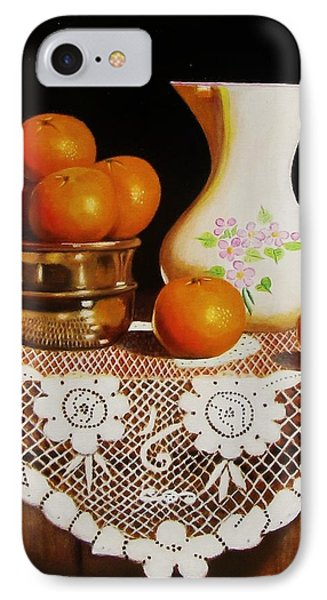 Orange You Sweet  IPhone Case by Gene Gregory