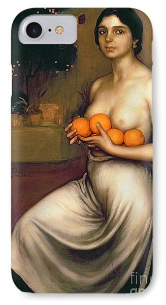 Oranges And Lemons IPhone Case by Julio Romero de Torres