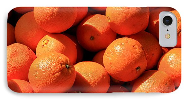 IPhone Case featuring the photograph Oranges by David Dunham