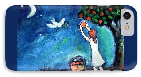 IPhone 7 Case featuring the painting Oranges Song by Winsome Gunning