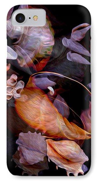 Orbiting Seashells IPhone Case by Lynda Lehmann