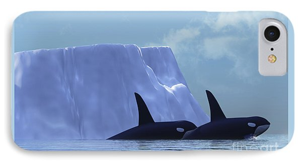 Orca Phone Case by Corey Ford