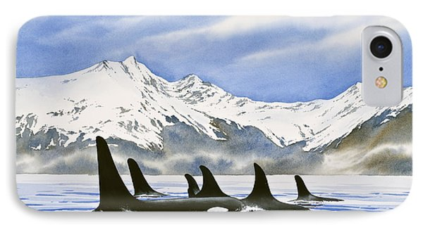 Orca Phone Case by James Williamson