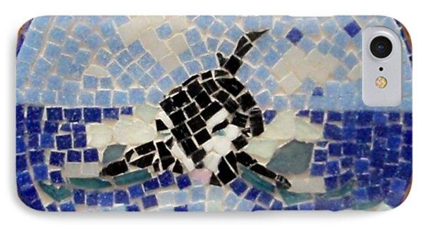 Orca Mosiac Phone Case by Jamie Frier