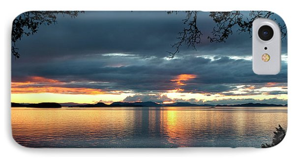 Orcas Island Sunset IPhone Case