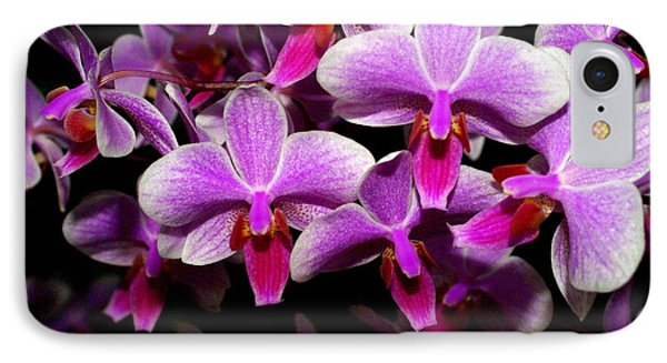 Orchid 12 Phone Case by Marty Koch